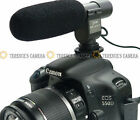 SG108 Pro Stereo Microphone for 3.5mm MIC jack 4 Canon 7D 60D 70D 5D2 5D Mark II