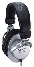 NEW Roland RH-200S Silver Stereo Headphones from JAPAN Freeshipping