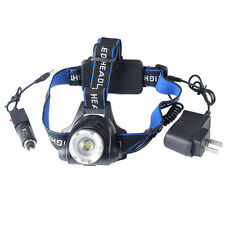 5000LM XML T6 LED Light Headlamp Rechargeable Headlight Lamp 3 Modes Head Torch