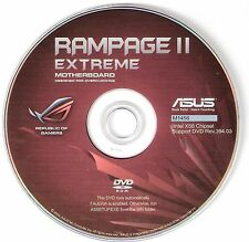 ASUS RAMPAGE II EXTREME  Motherboard Drivers Installation Disk M1456