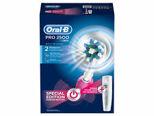 Oral-B Rechargeable Toothbrush Pro 2500 3D Action Plus Travel Case - PINK