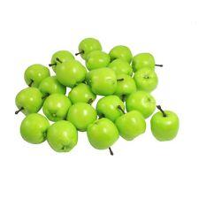Faux Fake Craft Apple Simulation Fruits Ornament Desk Decor 25 Pcs T1