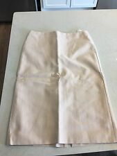 NWT Alexander McQueen 42 (Size 8) $515 Pale Pink Pencil Skirt Made in Italy