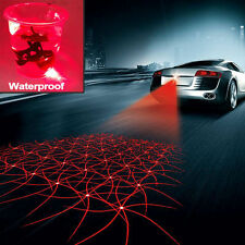Car Cool Pattern Anti-Collision Tail Fog Driving Laser Caution Light Waterproof