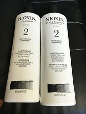 Nioxin System 2 Cleanser & Scalp Therapy Conditioner 16.9oz Duo Set