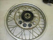 Honda XR250 1980 Rear Wheel with Brake Plate OEM Used
