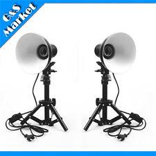 2pcs Photography Photo Studio Kit lamp shade+stand for Box Soft Tent Light