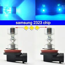 8000K ice Blue H11 H8 fog Light SAMSUNG 2323 LED 60W Projector Driving Bulbs DRL
