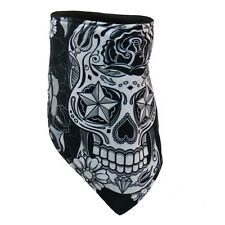 Foulard Masque Biker Skull Sugar Lady tête de mort - Mask custom moto - FWC1002