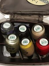 6 OPI Pack The Essentials Holiday 2013 Nail Polish 6 x.5oz + OPI Cosmetic Case