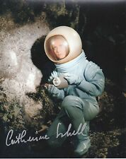 CATHERINE SCHELL Signed 10x8 Photo SPACE 1999  COA