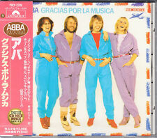 ABBA Gracias Por La Musica 1992 Japan CD Early Press With Obi POCP-2209 HTF Rare