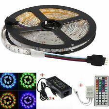 3528 SMD RGB 10M Light 600leds Waterproof LED Strip+Supply Power+44Key IR