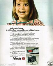 Publicité Advertising 1972 Appareil Photo Agfamatic Super Agfa