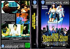 """VHS - """" Eine Verrückte Reise durch die NACHT """" (1988) - Keanu Reeves"""