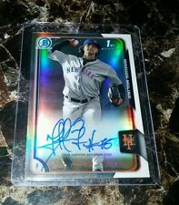 2015 BOWMAN CHROME REFRACTOR MARCUS MOLINA AUTO RC #290/499 NEW YORK METS MINT