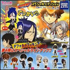 KATEKYO HITMAN REBORN! Deformed Figure Series 4 Gashapon Full Set TAKARA TOMY