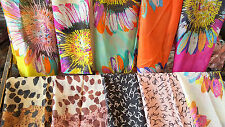 Joblot 20 pcs Mixed colour  design scarf wholesale 160x70 cm Lot 60