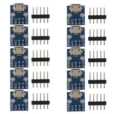 10pcs Female MICRO USB to DIP 5-Pin Pinboard 2.54mm + 5-pin Pin Header