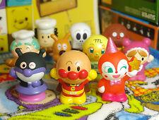10 PCS/Set Japan Anpanman Baikinman Dokin-chan Mini Figures Kids Finger Puppet