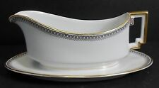 HEINRICH/H & C china HC17 Greek Key/Manchester pattern Gravy Boat