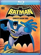 PRE ORDER : BATMAN : THE BRAVE & THE BOLD -  BLU RAY  - Sealed Region free