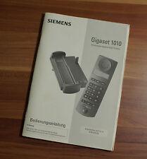 Bedienungsanleitung Siemens Gigaset 1010 DECT-Telefon (B3)