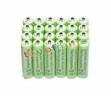 24pcs AAA 1.2V Ni-Mh 1800mAh rechargeable battery green