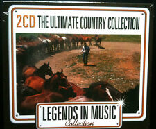 LEGENDS IN MUSIC COLLECTION - THE ULTIMATE COUNTRY - 2 CD NEUF -