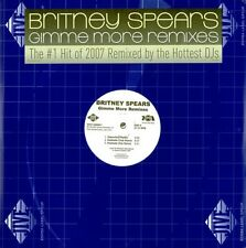 """Britney Spears Gimme More Remixes 10 mixes US Double Dj 12"""""""