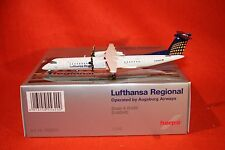 HERPA 556200  LUFTHANSA REG BOMBARDIER Q400 reg D-ADHE 1-200 SCALE LIMITED+STAND