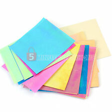 40 Fogli Carta per Origami Quadrata Multicolore 95x95MM DIY Piega Carte 5m9e