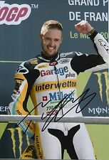 Thomas Luthi Hand Signed 12x8 Photo Interwetten Kalex Moto2 2015 MOTOGP 4.