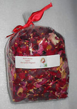 NWT Natural Dried Organic Rose Garden Floral Potpourri 9 Cup Highly Fragrant NEW