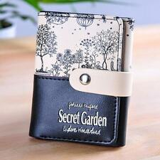 Women Wallet Secret Garden Coin Purse Short Wallet Card Holders Handbag