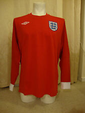"England 2010 - 2011 Long Sleeve Away Shirt by Umbro  - BNWT (48"" Chest)"