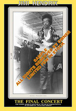 JIMI HENDRIX  ISLE OF FEHMARN YELLOW TRIM, PHOTO IS MINT MUST SEE INCREDIBLE