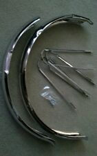 """CHROME FENDER SET FOR 26"""" BEACHCRUISER BICYCLES, 3&4/16WIDE,NICE"""