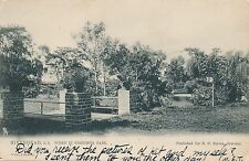 RIVERHEAD NY – Griffing Park Scene Griffings Tuck Postcard –Long Island–udb–1906