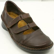 Naot Mary jane Double Strap Brown Leather Women's Shoes Sz 37/6 M