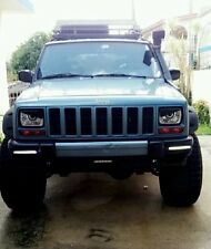 1988 1989 1990 1991 1992 Jeep Cherokee XJ Mad Angry Eyes Headlight Decal BAD BOY