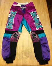 Vintage Mens Fox Racing T3 Motocross Pants Size 32