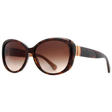 Coach HC 8040B 5033/13 L520 Keri Dark Havana Women's Sunglasses w/ Crystals