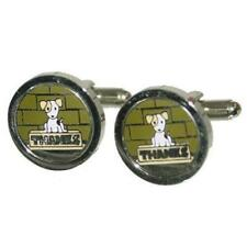 Thanks CUFFLINKS Cute Puppy Dog Thank You Party Christmas BIRTHDAY PRESENT