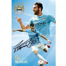 Alvaro Negredo Manchester City FC poster new MAN City English Premier League