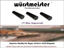 RECOIL BOLT BUFFER 2ND. GEN. FOR RUGER 1022 - Set of 3 -- THE BEST QUALITY!