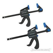 MINI CLAMPS 2PK 100MM SPEED VICE GRIP WOODWORK CARPENTRY TOOLS