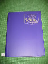 YuGiOh / MTG  - 'Monster Protectors' Card Binder/Folder - A4 Size Purple [#E]