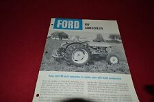 Ford Tractor Economy Plow Dealer's Brochure DCPA