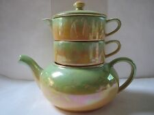 VINTAGE ROYAL WINTON GRIMWADES  (MADE IN ENGLAND) STACKING TEA SET